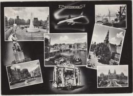 Amsterdam: KLM Vliegtuig, Dam, Draaiorgel, Rondvaartboten, Rijksmuseum Etc. - Noord-Holland/Nederland - Amsterdam