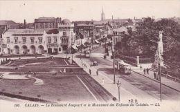 FRANCE - CALAIS - LE BOULEVARD JACQUART. LL 100. TRAM - Calais