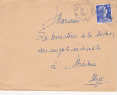 Paul Cazelles 1956 Alger - Hexagonal - Algeria (1924-1962)