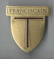Religieux/ Ecusson de P�re Franciscain/Laiton/Vers 1960    CAN161