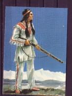 Karl May Postkarte: Orania - Verlag I/1 - Winnetou I - Indianer