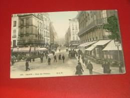 PARIS  -   Rue L'Odéon  -   1908   -  (2 Scans) - France
