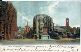 ETATS UNIS - Westminster & Weybosset Sts ,   PROVIDENCE - PRECURSEUR - Providence