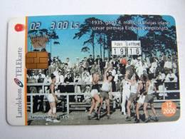 Chip Phone Card BASKETBALL #2 From LATVIA Lettonie Lettland Carte Karte - Latvia