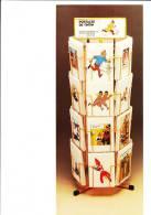 TINTIN. Flyer Publicitaire Des Ed. Norma Editorial. Espagne. Pour Sa Production D´une Série De Cartes Tintin. Années 90. - Werbeobjekte