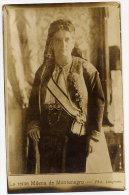 MONTENEGRO Queen Milena - Rare Real Photographic Postcard.  Unused. - Montenegro
