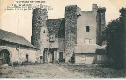 63  SAINT  DIERY -   Le  Chateau  ( 1 Pli ) - France