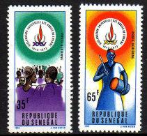 Sénégal P.A. N°142 / 43 XX 25ème Ann. De La Déclaration Universelle Des Droits De L'Homme, Les 4 Val. Sans Charnière, TB - Senegal (1960-...)