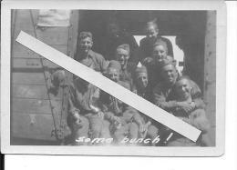 Soldats Américains Groupe De Mécaniciens Du 29th.engeeners 1 Photo D´un Album Américain1919 Ww1 WwI Wk - War, Military