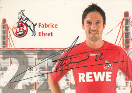 1.FC KÖLN  - Autogrammkarte - Calcio