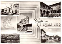 CO211 CERTALDO (Firenze) CINQUE VEDUTE SALUTI DA CERTALDO - Firenze