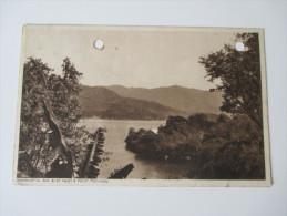Postcard 1929 Savonetta Bay & St. Mary's Point, Trinidad. Send To Germany. F.P. Bruce-Austin, Marine Square - Trinidad