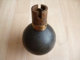 Grenade Boule Francaise WW1 Modèle 1914   No3 - Armi Da Collezione