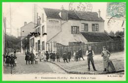 18- Vaucresson - (S.et O.) Rue De La Folie Et Postes (recto Verso) - Vaucresson