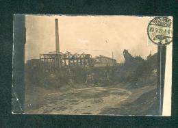 Carte Photo - Ludwigshafen - Oppau - Catastrophe - Explosion Usine Chimique Engrais BASF ( Correspondance à Lire Plan - Ludwigshafen