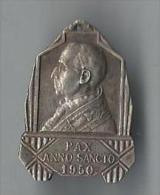 Religieux/ Médaille / Pape Pie XII/ Année Sainte/Opus Justiciae Pax/l/1950       CAN174 - Frankrijk