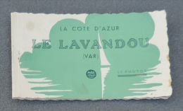 Carnet De Dix Photos - La Côte D'Azur - Le Lavandou - Éditions Mar à Nice - Lieux