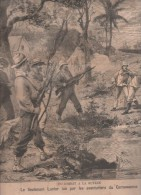 LE PETIT PARISIEN 09 06 1895 - GUYANE - MAC MAHON STATUE A MAGENTA - JARDIN D´ACCLIMATATION - CAPITAINE CREQUER STEAMER - Newspapers