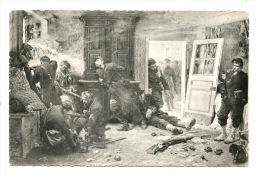 """Bazeilles Ardennes """"la Dernière Cartouche"""" Tableau Alphonse De Neuville 1870 N°4 Comité Traditions Troupes Colonialistes - France"""
