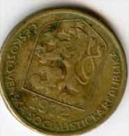 Czechoslovaka Socialist Republic 20 Haleru 1972 - Tschechoslowakei