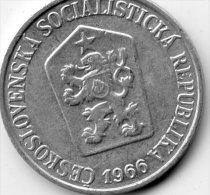 Czechoslovaka Socialist Republic 5 Haleru 1966 - Tschechoslowakei