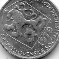Czechoslovaka Socialist Republic 5 Haleru 1979 - Tschechoslowakei