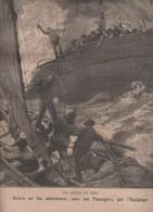 LE PETIT PARISIEN 23 06 1895 ABANDON DE NAVIRE PRES DE ST BRIEUC - RUIZ ZORILLA - PAUL BOURGET - COLONEL GILLON - TONKIN - Journaux - Quotidiens