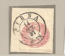 SacMi.Nr. 16a/ Stempel Auf Ausschnitt  Pirna - Sachsen