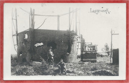 LANGENMARK - Fotokaart - Carte Photo - Tank - Réservoir - Guerre 14/18 - Langemark-Poelkapelle