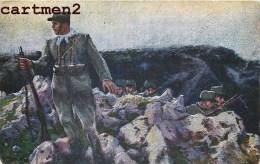 CARTLOLINA COMMEMORATIVA DELLA IV GUERRA PER L'INDIPENDENZA ITALIANA CROCE ROSSA CROIX ROUGE RED CROSS CASCELLA - Guerra 1914-18