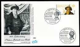 31148) BRD - Mi 1607 - FDC - 140Pf     Johann Adam Schall Von Bell - FDC: Briefe