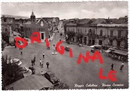 REGGIO CALABRIA PIAZZA CARMINE   FOTOCELERE TORINO ANNI 40-50 - Reggio Calabria