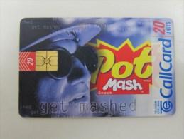 Chip Phonecard,Pot Mash Snack,used - Irlanda