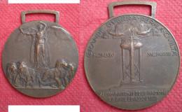 MEDAGLIA  GRANDE GUERRA PER LA LIBERTA' 1915/1918 - Royaux/De Noblesse
