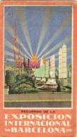 9332. Programa Publicidad EXPOSICION BARCELONA 1929 - Advertising
