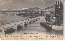 Geneve Et Le  Mont Blanc B - GE Genève