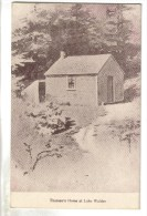 CPSM CONCORD (Etats Unis-Massassuchets) - Thoreau's Home At Lake Walden - Altri