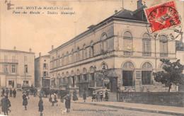 ¤¤  -  1666   -  MONT-de-MARSAN   -  Place Du Marché  -  Théatre Municipal  -  ¤¤ - Mont De Marsan
