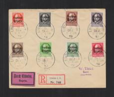 Bayern Expres Brief 1919 In Die Schweiz - Bayern