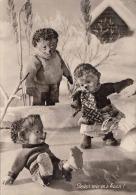 MECKI - Jeder Wie Er's Kann!, Gebrüder Diel, Fotokarte 1964 - Mecki