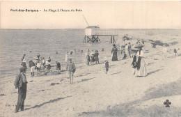 ¤¤  -   PORT-des-BARQUES   -  La Plage à L'Heure Du Bain  -  Pêcherie    -  ¤¤ - Non Classificati