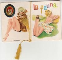 """CALENDARIETTO-ALMANACCO-CALENDARIO-CALENDRIER-KALENDAR-1965 FORMATO PICCOLO-""""LA FAUNA""""-COMPLETO-ORIGINALE 100% - Calendari"""