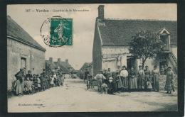 VERDES - Quartier De La Mairaudière (belle Carte Animée) - France