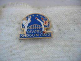 Pin´s Du Shogun Club De GIVORS - Lutte