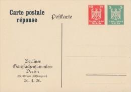 DR Privat-Ganzsache Minr.PP86 C1/02 Postfrisch - Deutschland