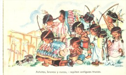 POSTAL    ASTUTOS BRAVOS Y CUCOS  ( JRR  -SERIE 69 ) - Tarjetas Humorísticas