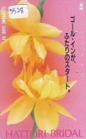 Télécarte Japon * FLEUR * ORCHID (3528)  Orchidée Orquídea Orquidée Orchid * Flower Phonecard JAPAN * - Blumen