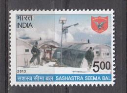 INDIA,  2013, Sashastra Seema Bal, MNH,  (**) - India