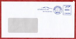 Brief, Francotyp-Postalia F360304, Autohaus E Uhl, 55 C, Bad Saulgau 2011 (56222) - [7] Federal Republic