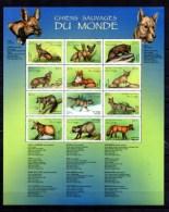 RDC 1999, Chiens Sauvages Du Monde, BF 152**, Cote 22,50 € - Perros